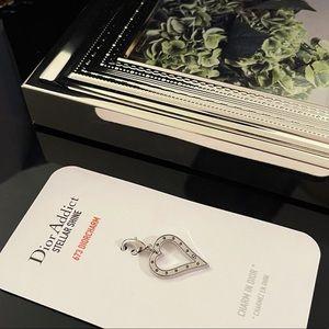 ✨Auth - Dior Heart Charm Breloque - Doir vip